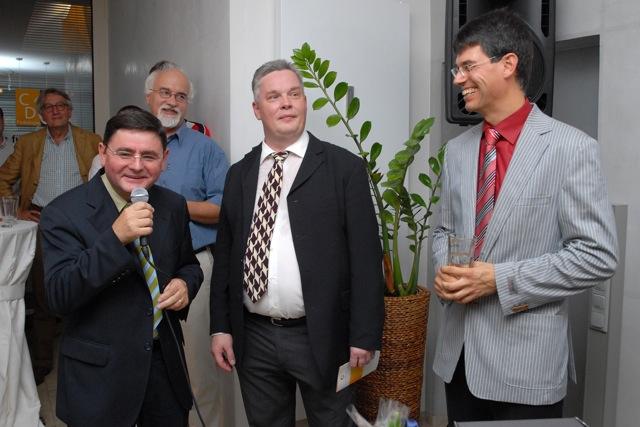 Landrat Erwin Schneiders Rede bringt Freude